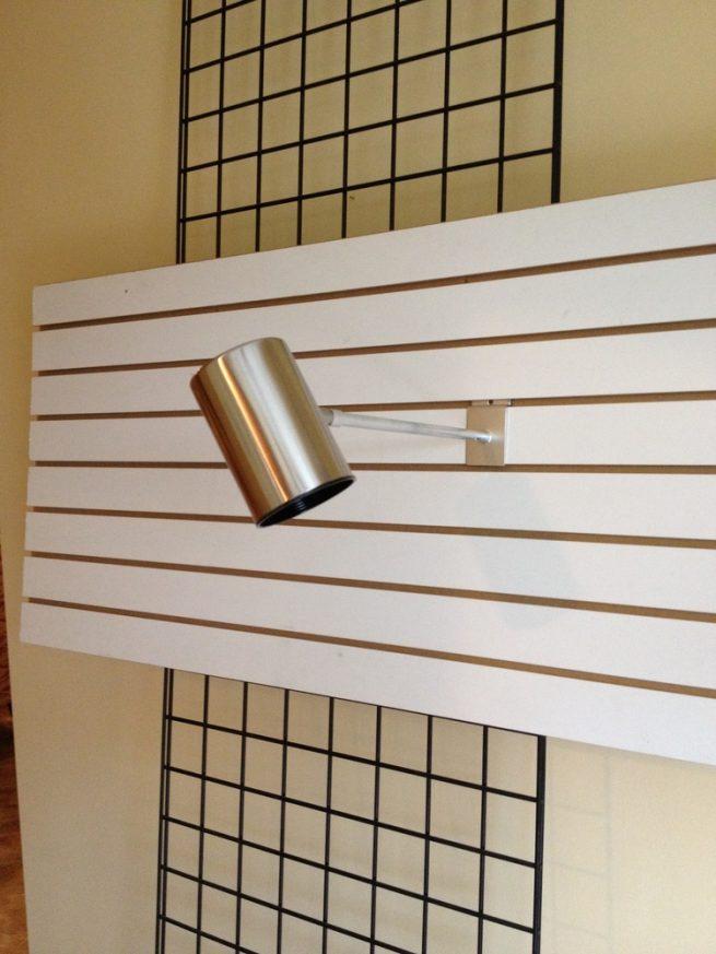 3x5 Slatwall Gridwall Light Fixture